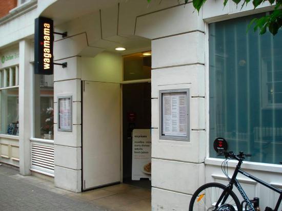 Wagamama - Bloomsbury: Wagamama, Bloomsbury.