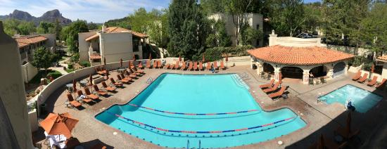 El Portal Sedona Hotel Pool At Los Abrigados Resort Spa Next Door