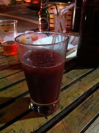 La Nona: Suco de Framboesa