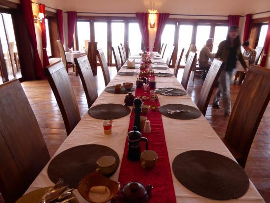 Escarpment Luxury Lodge: Dining Room