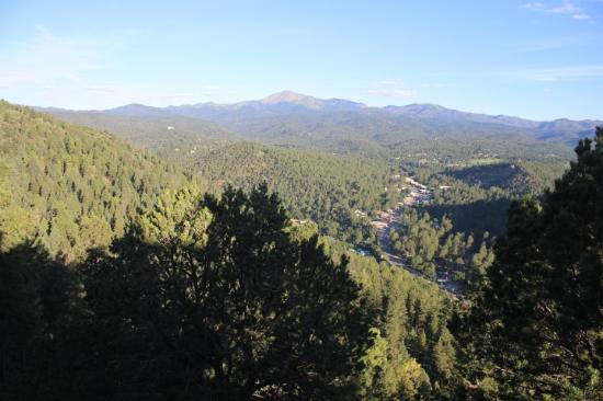 Crown Point Owners Association: View of Sierra Blanca and Ruidoso from Crown Point Condos