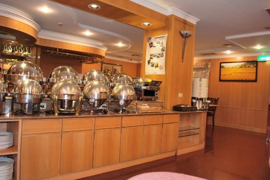 Ying Zhen Hotel Taoyuan: 餐廳