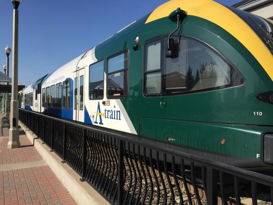 A-Train of Denton to DART of Dallas