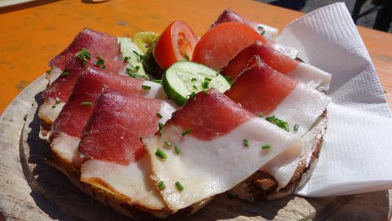 Tressdorfer Alm: speckbrood