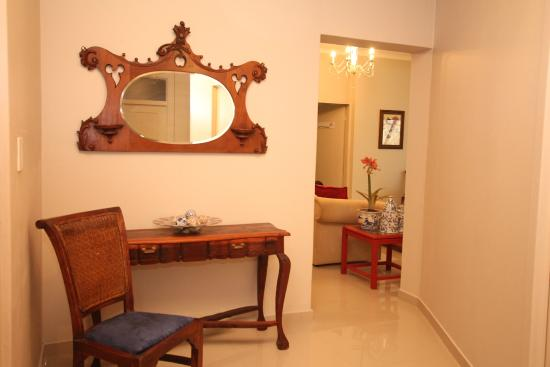 33 on First Guest House: Hallway to rooms