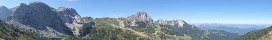 Sonnenalpe Nassfeld, Österreich: zicht op alm