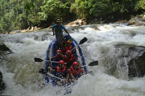 RIVER EXPLORER White Water Rafting in Gopeng, Malaysia