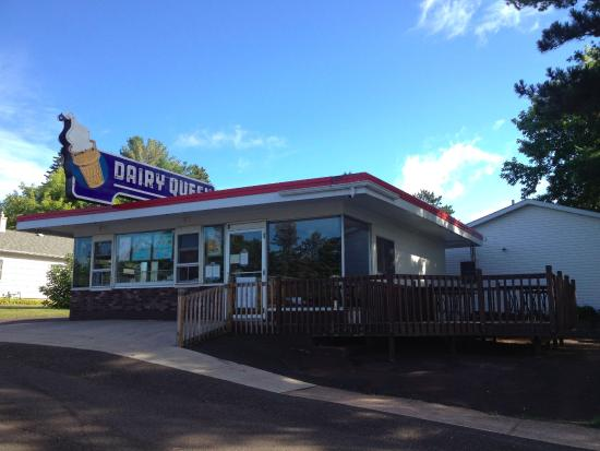 Solon Springs (WI) United States  City new picture : Exterior Picture of Dairy Queen, Lake Nebagamon TripAdvisor