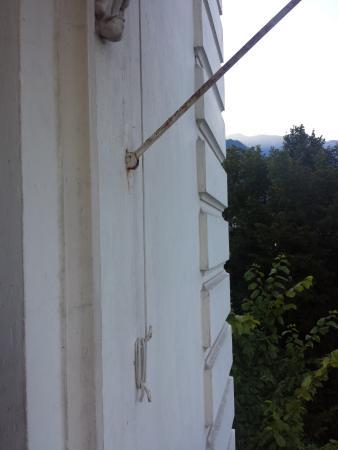 Eden Palace au Lac: Manipulation des stores de soleil....