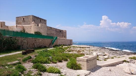 Al Castello: Il Castello, visto dal ristorante