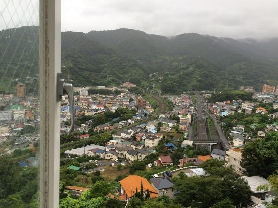 Hotel Chobosanso : 窓からの景色です。