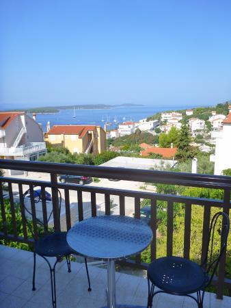 Apartments Ivanovic: mornig view form the balcony