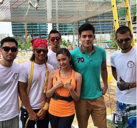 Taguig City, Φιλιππίνες: Kim Chiu & Xian Lim