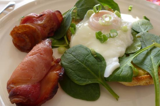 The Bronte Boutique Hotel: Bacon with a twist