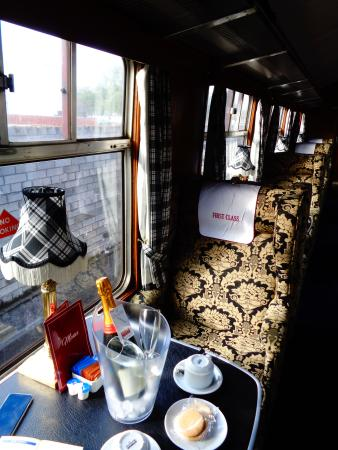 Jacobite Steam Train: Unser Platz