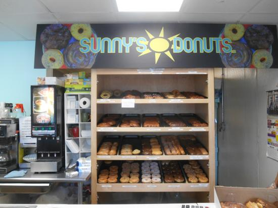 Sunny's Donuts : A great variety and all were wonderful