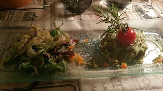 Hotel Palais Cardinal: Last night's meal