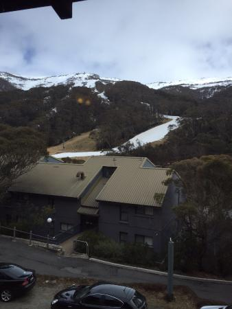 Berntis Mountain Inn: The view from the restaurant