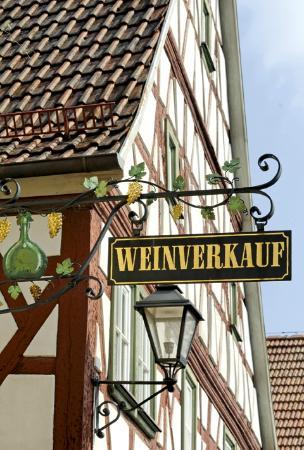 Markt Einersheim, Deutschland: Weinverkauf
