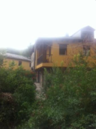 Villanueva de Valdezuela, España: Vista desde la zona de barbacoa