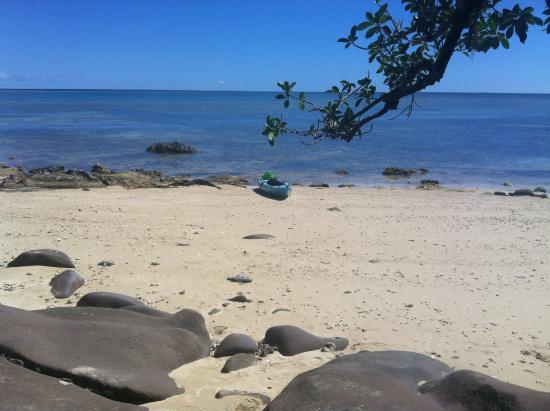 Papageno Resort : Perfect island during low tide