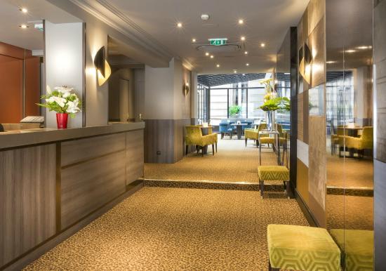 Hotel Concortel : Reception