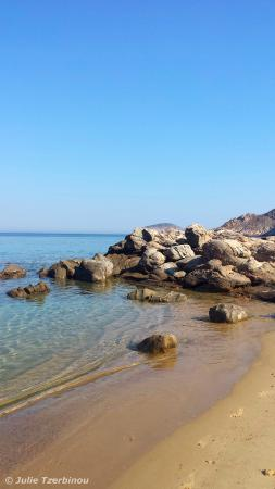 Serifos, Yunani: Rocks and Sand