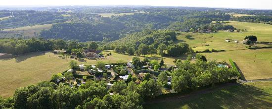 Camping La Nouvelle Croze : vue
