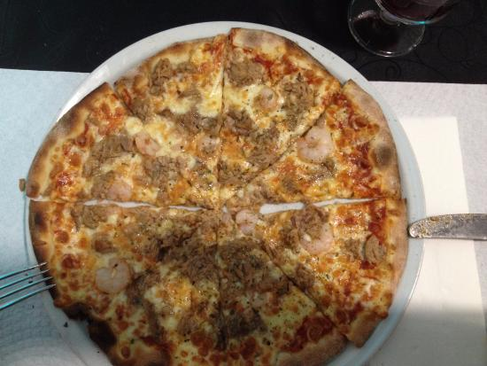 Vieira's Pizzas Bar: Camarão / atum
