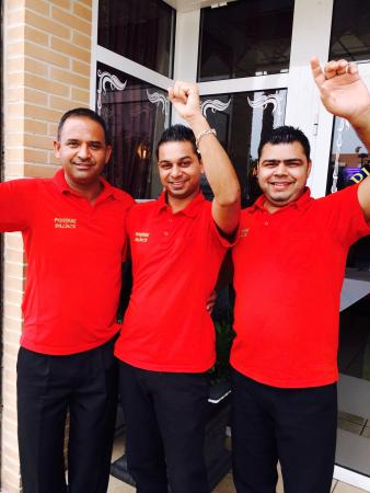 Los Montesinos, Espanha: Some memories with Punjabi palace staff