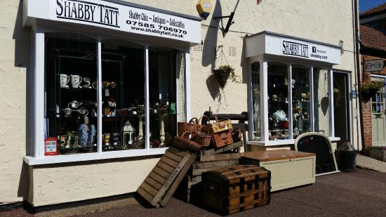 Swaffham, UK: shabby chic - vintage - antiques & collectables