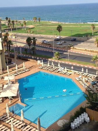 מלון דיויד אינטרקונטיננטל: View from our terrace