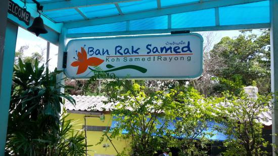 Ban Rak Samed Hotel: The Sign