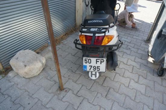 Cappadocia Hitchhiker: レンタルスクーター