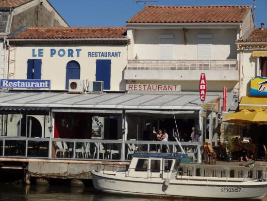 quot restaurant du port quot le grau du roi gard foto di restaurant du port le grau du