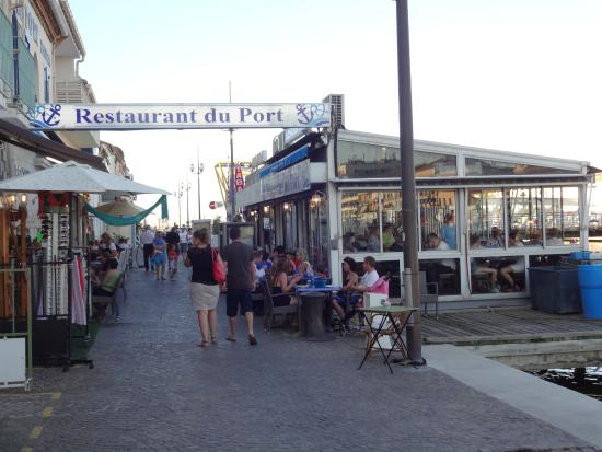 restaurant du port picture of restaurant du port le grau du roi tripadvisor