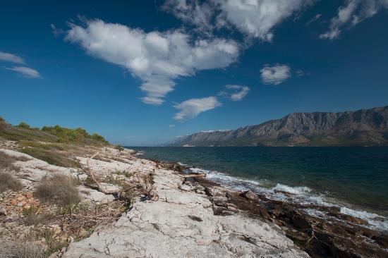 Sucuraj, Κροατία: Bilina beach