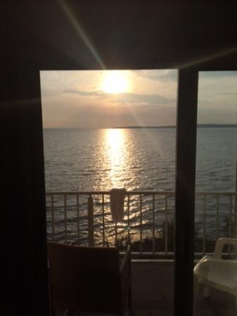 Quality Inn Lakefront: View from room