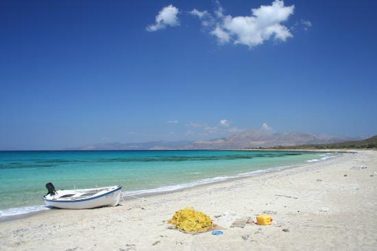 Katonisiotisses: kato nisi beach