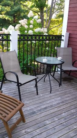 Blomidon Inn: Private Deck