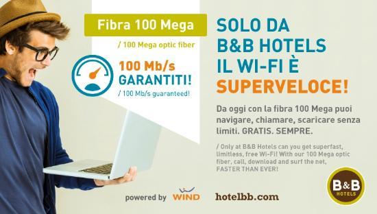 B&B Hotel Firenze City Center: Internet Point