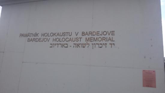 Bardejov, Slovakien: השלט מחוץ לאתר