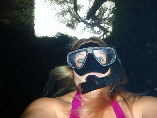 Snorkeling in the Devil's Den