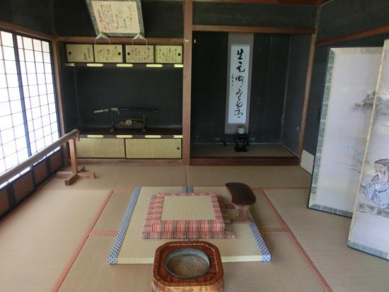 Kaizu, Japan: 書院内部