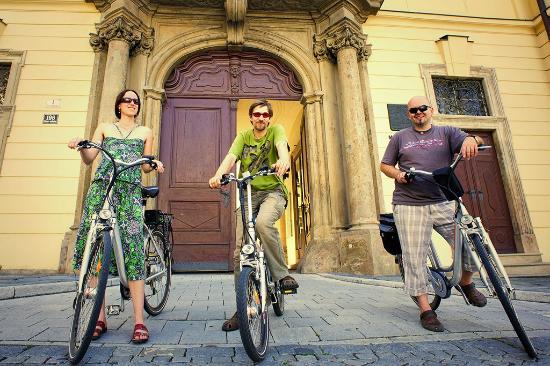 Town Hall Bike Trip Brno