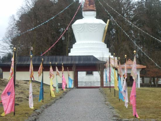 Eskdalemuir, UK: stupa