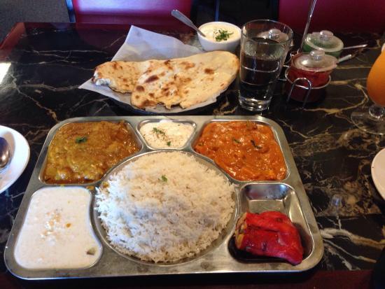 Curry house non veg combo!