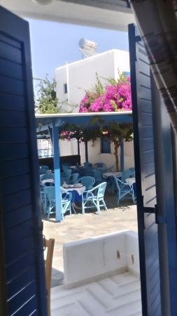 Hotel Galinos: vista dal balcone