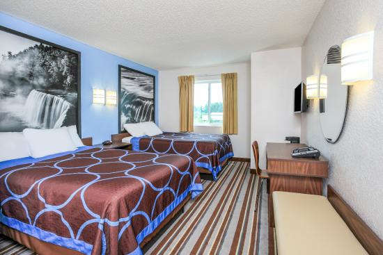 Super 8 Sault Ste. Marie: Standard 2 Double Bed