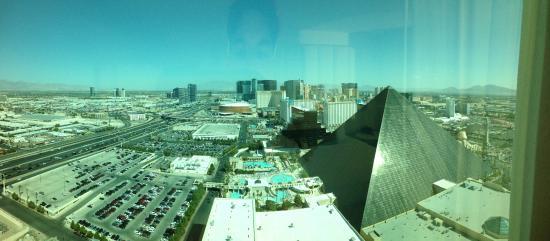Delano Las Vegas: View from the Delano